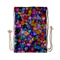 COLORED PEBBLES Drawstring Bag (Small)