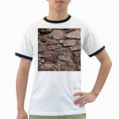 CEMENTED ROCKS Ringer T-Shirts
