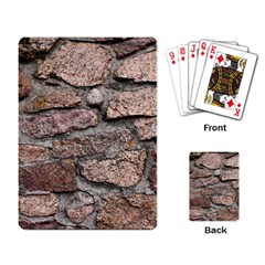 CEMENTED ROCKS Playing Card