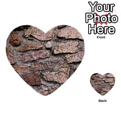 Cemented Rocks Multi Purpose Cards (heart)