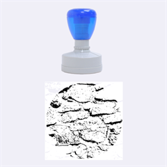 CEMENTED ROCKS Rubber Round Stamps (Medium)