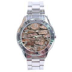 CEMENTED ROCKS Stainless Steel Men s Watch