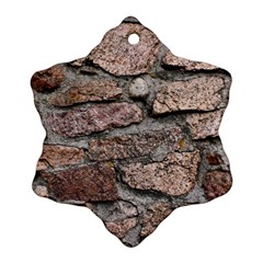 CEMENTED ROCKS Ornament (Snowflake)