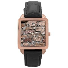 CEMENTED ROCKS Rose Gold Watches