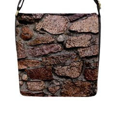 CEMENTED ROCKS Flap Messenger Bag (L)