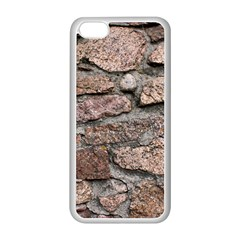 CEMENTED ROCKS Apple iPhone 5C Seamless Case (White)