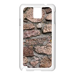CEMENTED ROCKS Samsung Galaxy Note 3 N9005 Case (White)