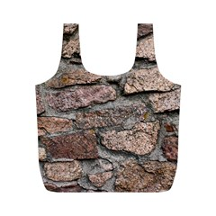 CEMENTED ROCKS Full Print Recycle Bags (M)