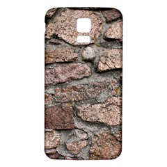 CEMENTED ROCKS Samsung Galaxy S5 Back Case (White)