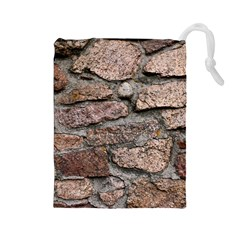 CEMENTED ROCKS Drawstring Pouches (Large)