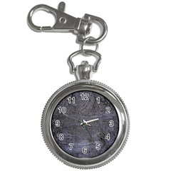 BLUE STUCCO TEXTURE Key Chain Watches