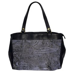 BLUE STUCCO TEXTURE Office Handbags (2 Sides)