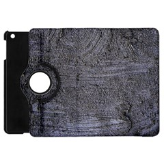 BLUE STUCCO TEXTURE Apple iPad Mini Flip 360 Case