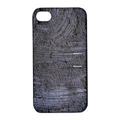 BLUE STUCCO TEXTURE Apple iPhone 4/4S Hardshell Case with Stand
