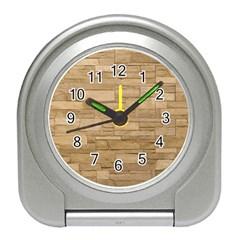 BLOCK WALL 2 Travel Alarm Clocks