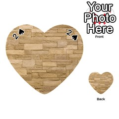 Block Wall 2 Playing Cards 54 (heart)