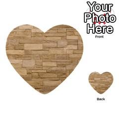 BLOCK WALL 2 Multi-purpose Cards (Heart)