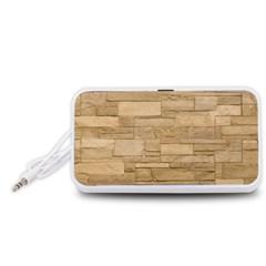 BLOCK WALL 2 Portable Speaker (White)