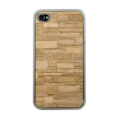 BLOCK WALL 2 Apple iPhone 4 Case (Clear)
