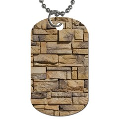 BLOCK WALL 1 Dog Tag (One Side)