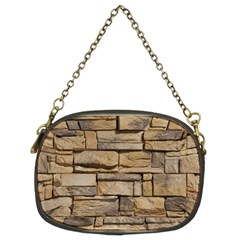 BLOCK WALL 1 Chain Purses (Two Sides)