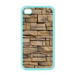 BLOCK WALL 1 Apple iPhone 4 Case (Color)