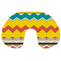 Zig zag Travel Neck Pillow
