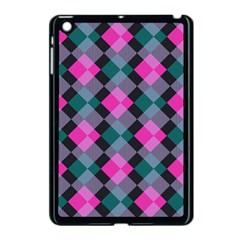 Argyle variation Apple iPad Mini Case (Black)