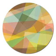 Fading shapes Magnet 5  (Round)