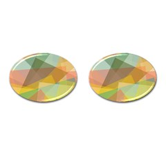 Fading shapes Cufflinks (Oval)