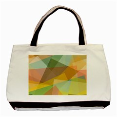 Fading shapes Basic Tote Bag (Two Sides)