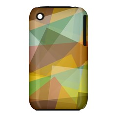 Fading shapes Apple iPhone 3G/3GS Hardshell Case (PC+Silicone)