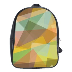 Fading shapes School Bag (XL)