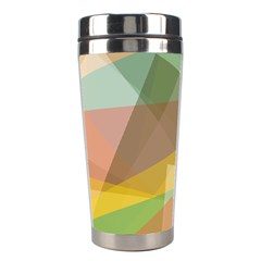 Fading shapes Stainless Steel Travel Tumbler
