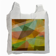 Fading shapes Recycle Bag