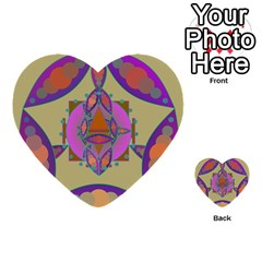 Mandala Multi Purpose Cards (heart)