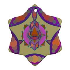 Mandala Ornament (snowflake)
