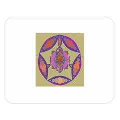 Mandala Double Sided Flano Blanket (large)
