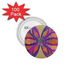 Fly-Mandala 1.75  Buttons (100 pack)