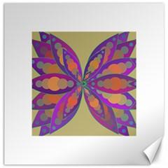 Fly Mandala Canvas 20  X 20