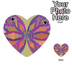 Fly Mandala Playing Cards 54 (heart)