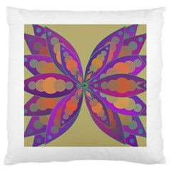 Fly-Mandala Large Cushion Cases (One Side)
