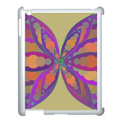 Fly-Mandala Apple iPad 3/4 Case (White)