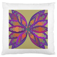 Fly-Mandala Standard Flano Cushion Cases (One Side)