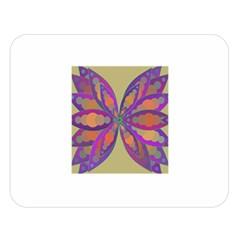 Fly Mandala Double Sided Flano Blanket (large)