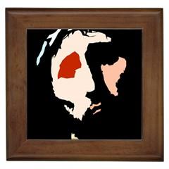 Christ Framed Tiles