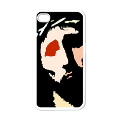Christ Apple iPhone 4 Case (White)