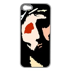 Christ Apple iPhone 5 Case (Silver)
