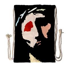 Christ Drawstring Bag (large)