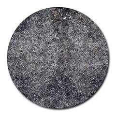 BLACK MICA Round Mousepads
